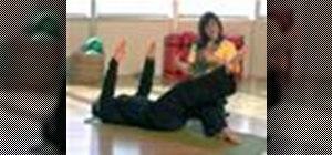 Do the full teaser in body weight pilates