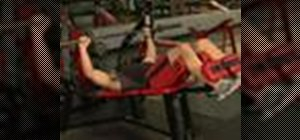 Execute wide grip decline bench presses