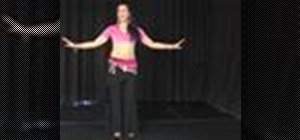 Do the shimmy in belly dancing