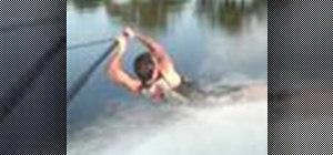 Water ski barefoot