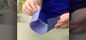 Make a vortex paper airplane