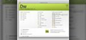 Navigate the Dreamweaver CS4 interface