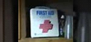 Start a first aid kit