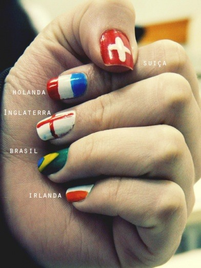 HowTo: Give Yourself a World Cup Manicure
