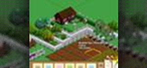 Take a photo of your farm in FarmVille