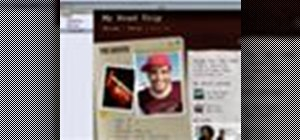 Add a page using iWeb