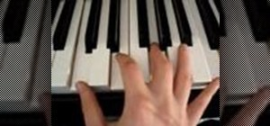 Play chords in chromatic order on the piano