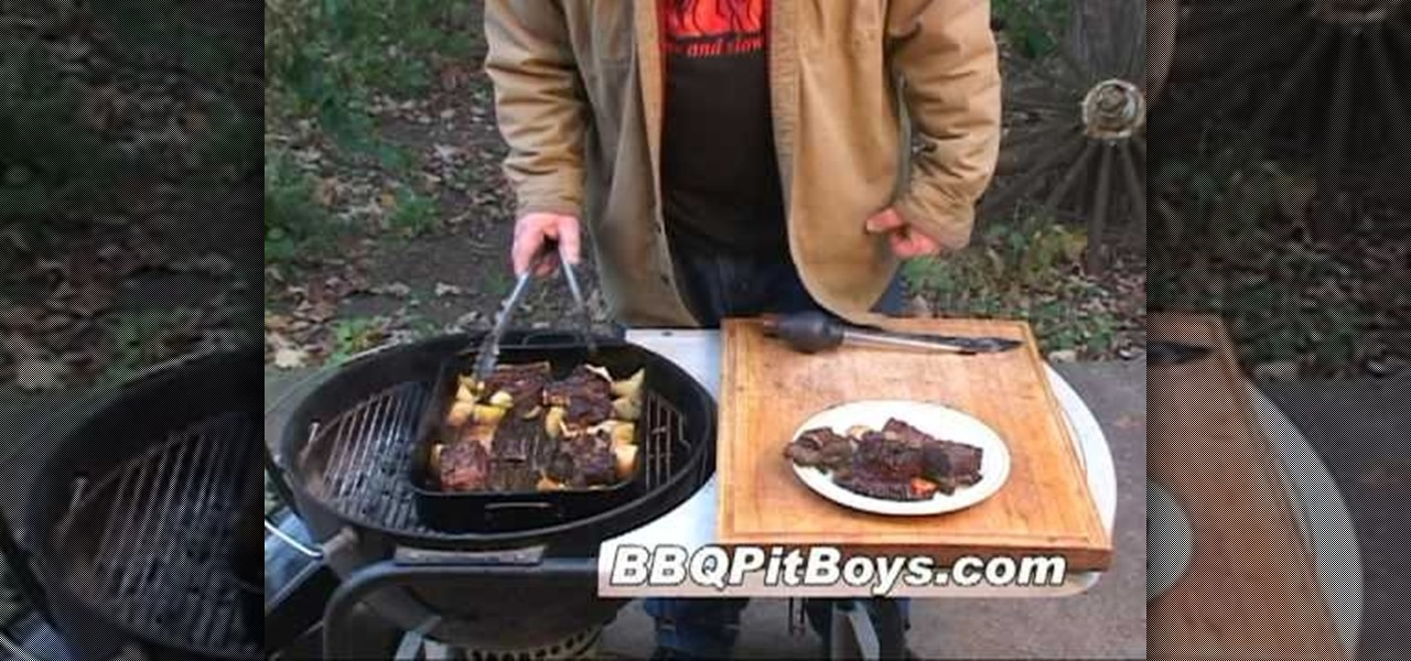 How to Grill some BBQ beef short ribs with the BBQ Pit Boys « Meat
