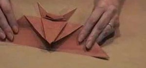 Origami Mantler's Bat