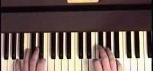 "Play ""While My Guitar Gently Weeps"" on piano"