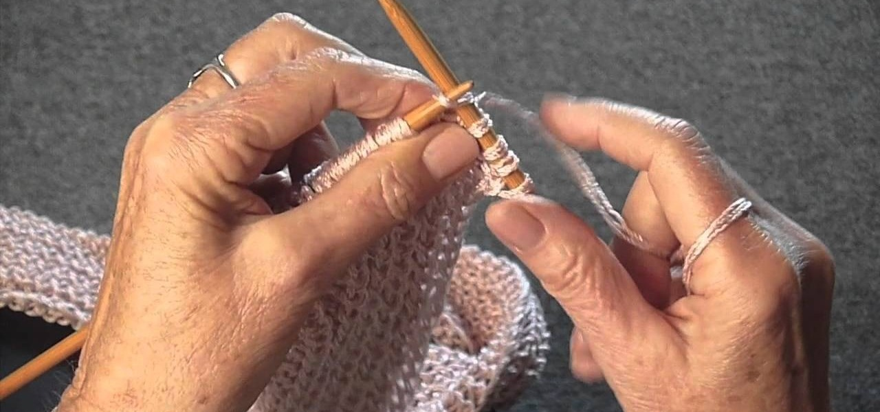Knit the Mistake Rib Stitch
