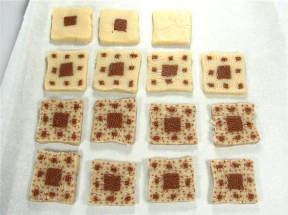 How to Make Sierpinski Carpet Cookies