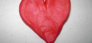 Make a play-doh heart with your kids