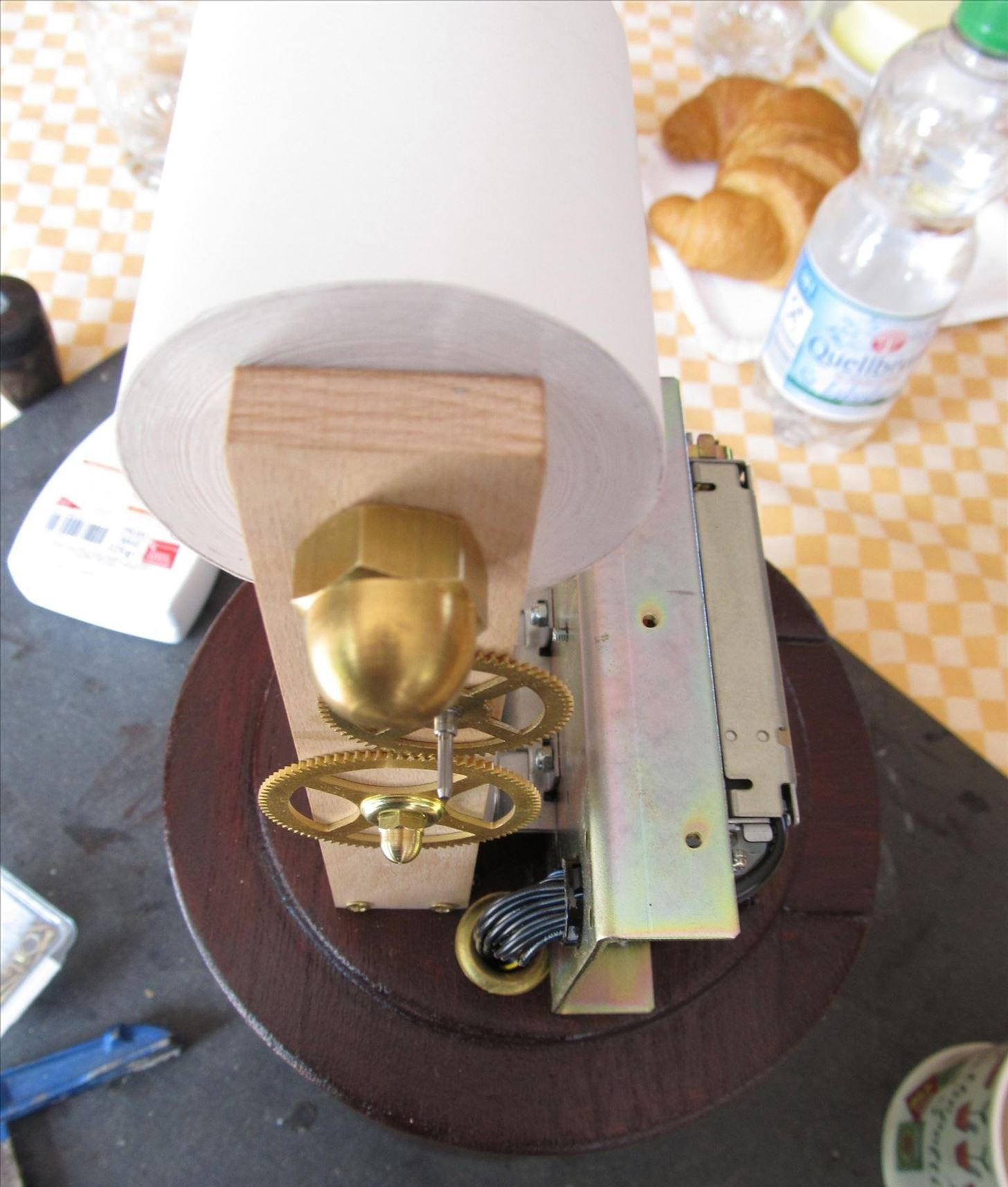 "Print Your Emails in Style with This Steampunk Tape ""Ticker Machine"""