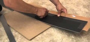 Install your own floating vinyl plank flooring in your home