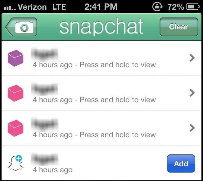 Drop Your Snapchat Names