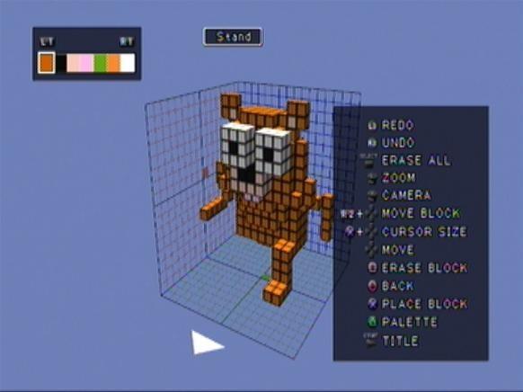 Yogi Bear in 3D Dot Heroes