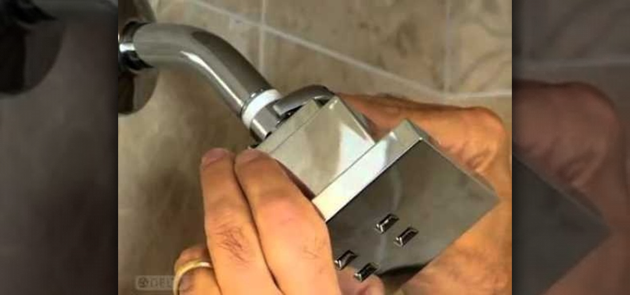 How to Change a shower head and install a hand shower system ...