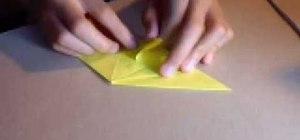 Origami a penguin