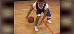 Do the Pistol Pete ball handling drill in basketball