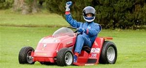Man Aims to Set World Record With 100MPH Lawnmower