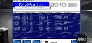 View TCP and UDP ports on a Windows PC with MyPorts 2010
