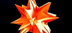 Quickly make an origami kusudama