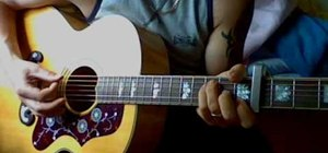 """Play """"Octopus's Garden"""" by The Beatles on guitar"""