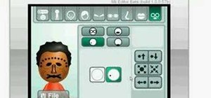 Make a LeatherFace Mii