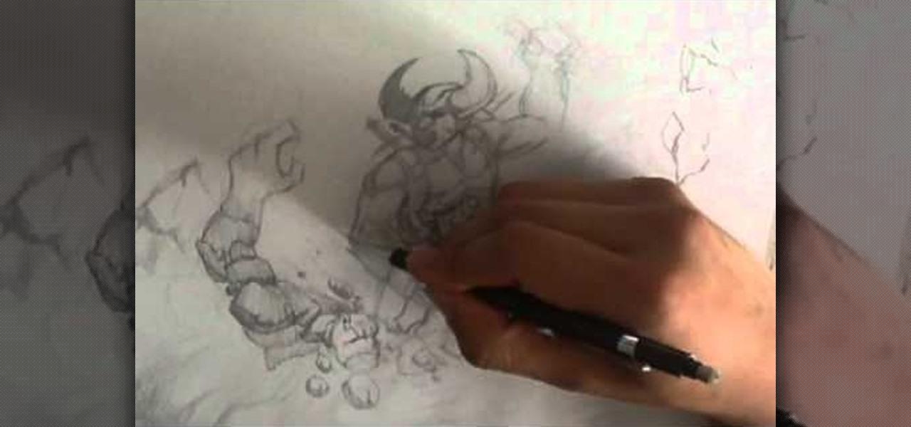 Draw Battle Scene
