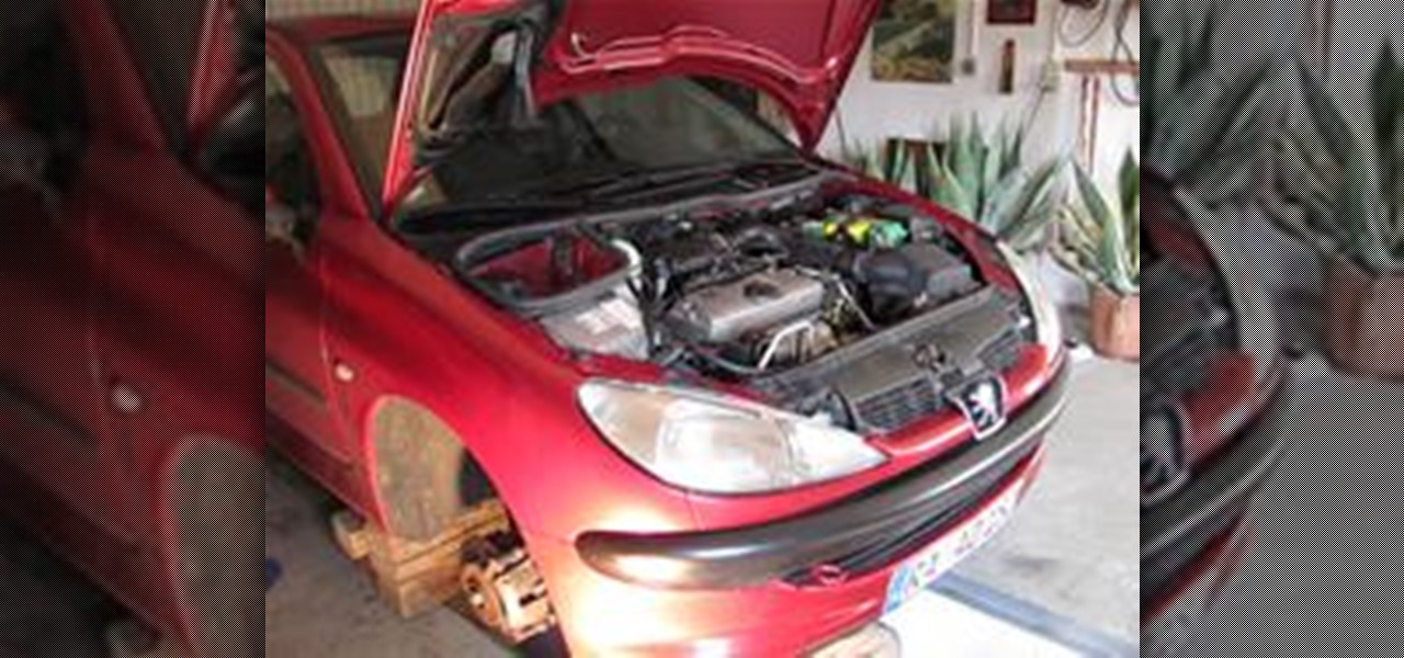 how to service a peugeot 206 compact car « maintenance :: wonderhowto