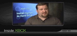 Install games to the Xbox 360 hard drive