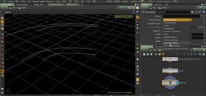How to use ramp parameters and profile curves using Houdini