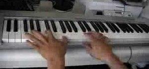 "Play John Legend ""Ordinary People"" on piano"