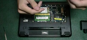 Replace and upgrade the SSD in a Dell Mini 9 Notebook
