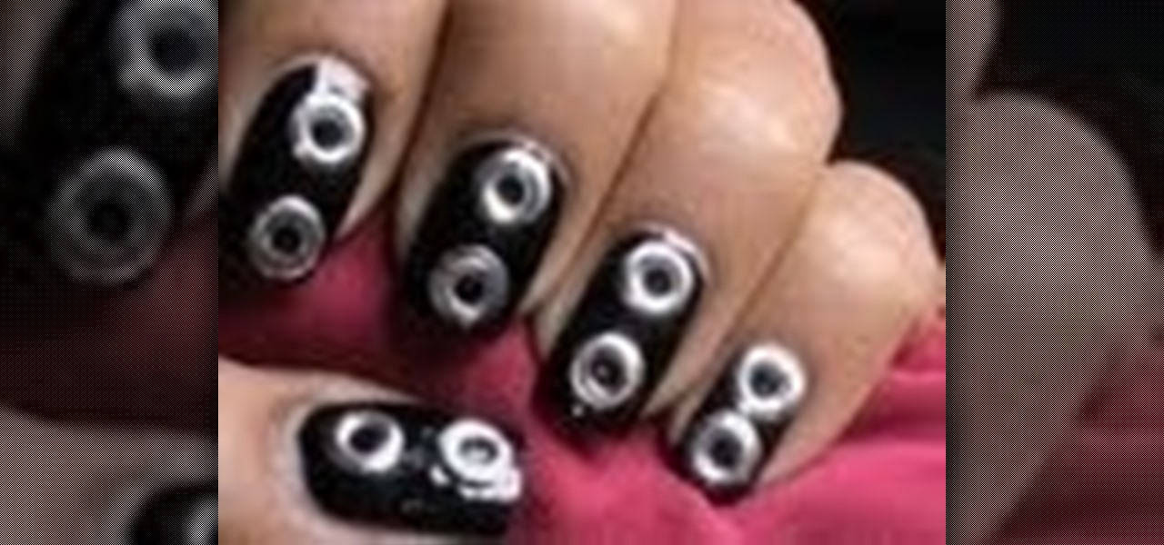 Do Cute Studded Nails