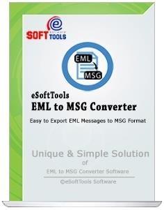 eSoftTools EML to MSG Converter Tool