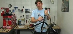 Install a seat post