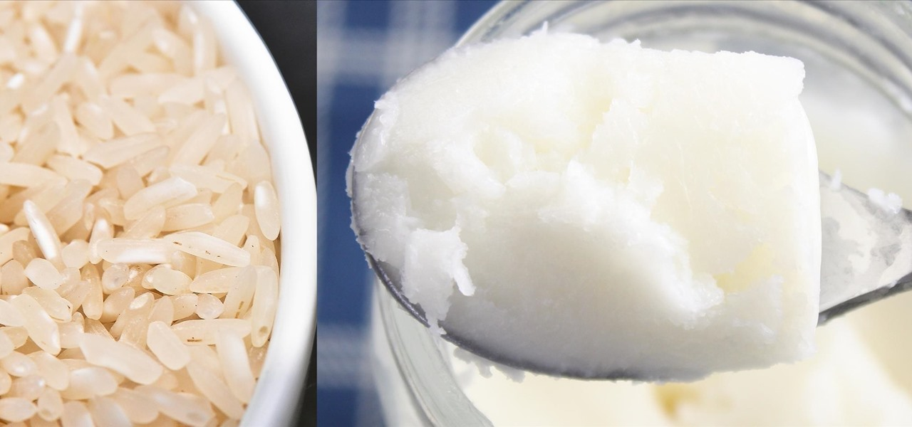 half of coconut could cooking white rice with coconut oil cut calories food