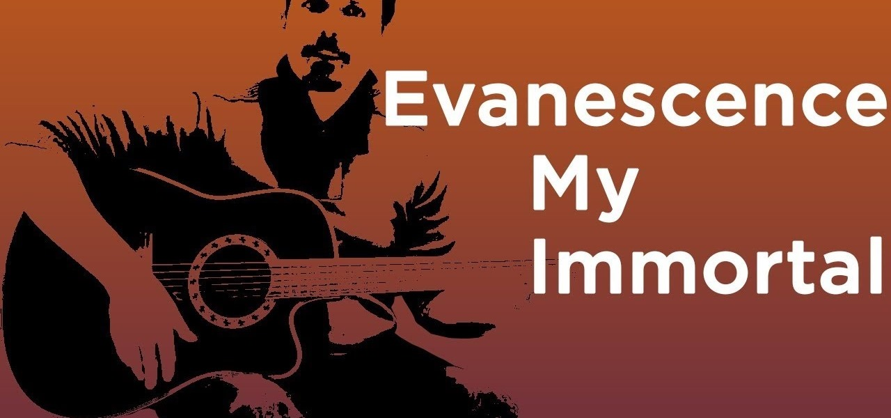 How To Play My Immortal By Evanescence On Guitar How To Videos