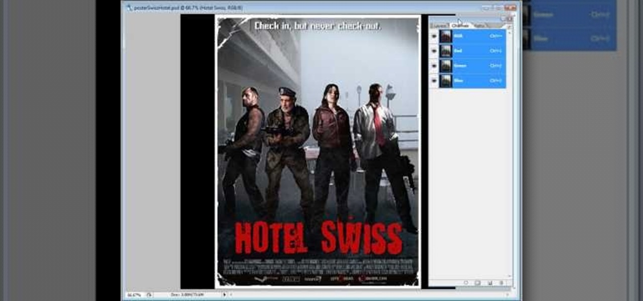 How to Create your own movie poster in Adobe Photoshop « Photoshop ...