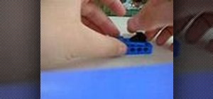 Build a Lego motor car