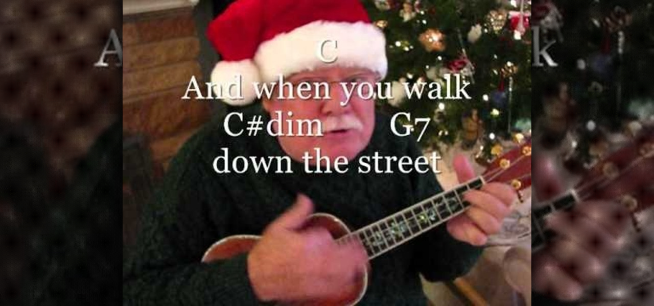 How To Play Have A Holly Jolly Christmas On The Ukulele Ukulele