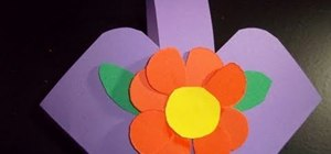 How to make a flower or candy basket out of construction paper how to make a flower or candy basket out of construction paper mightylinksfo
