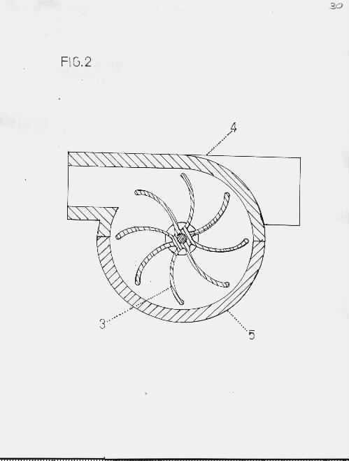 State of the Art Novel InFlowTech 1-Gearturbine RotaryTurbo, 2-Imploturbocompressor One CompressionStep