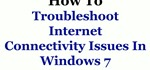 How to Troubleshoot Problems with Your Internet Access Connection