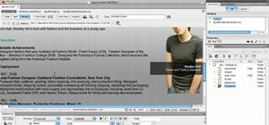 Create template-based web pages in Dreamweaver CS5