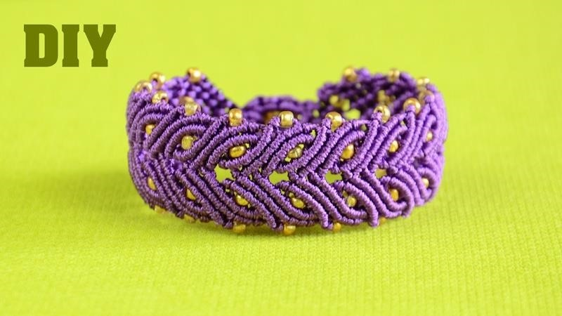 DIY Laurel Leaf Bracelet