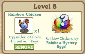 Rainbow Chickens