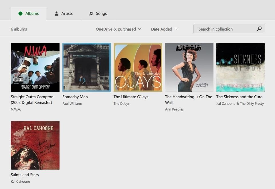You Can Now Play Your Music on OneDrive via PC, Phone, Xbox, & Web